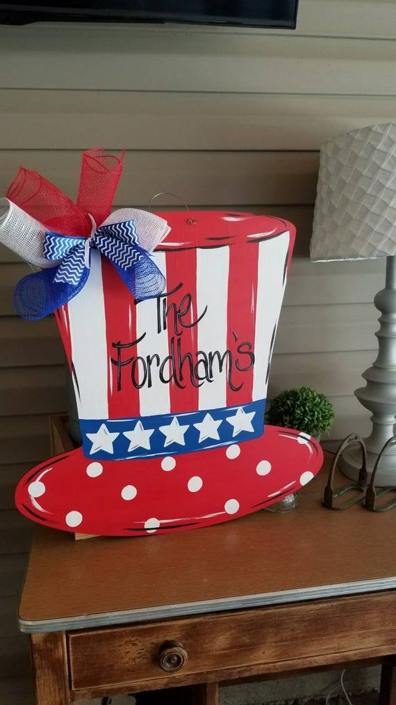 Pin By Lou Dupuy On 4th Of July Crafts Wood In 2020