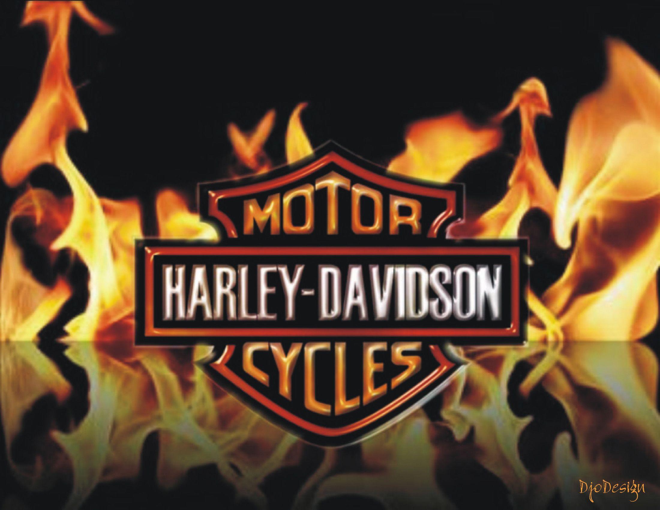 Harley Davidson Logo Fire Harley Davidson Decals Harley Davidson Logo Harley