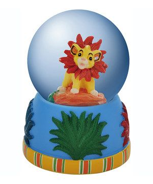 Look at this #zulilyfind! Simba Water Globe by Disney #zulilyfinds