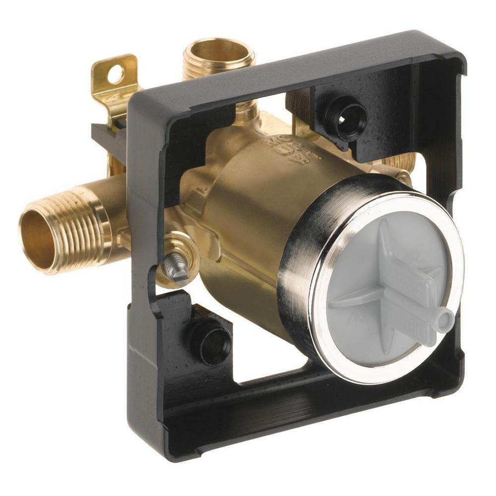 Delta Multichoice Universal Shower Valve Body Rough In Kit R10000