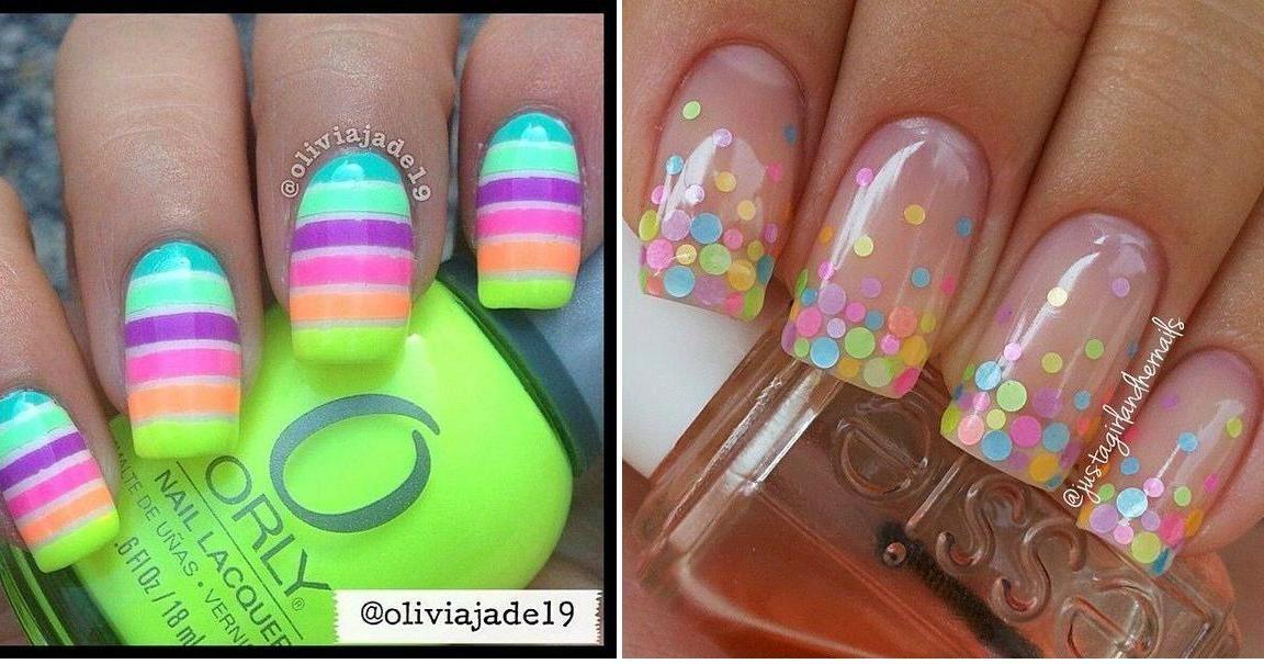21 asombrosos diseños de uñas decoradas de colores | Belleza | RED ...