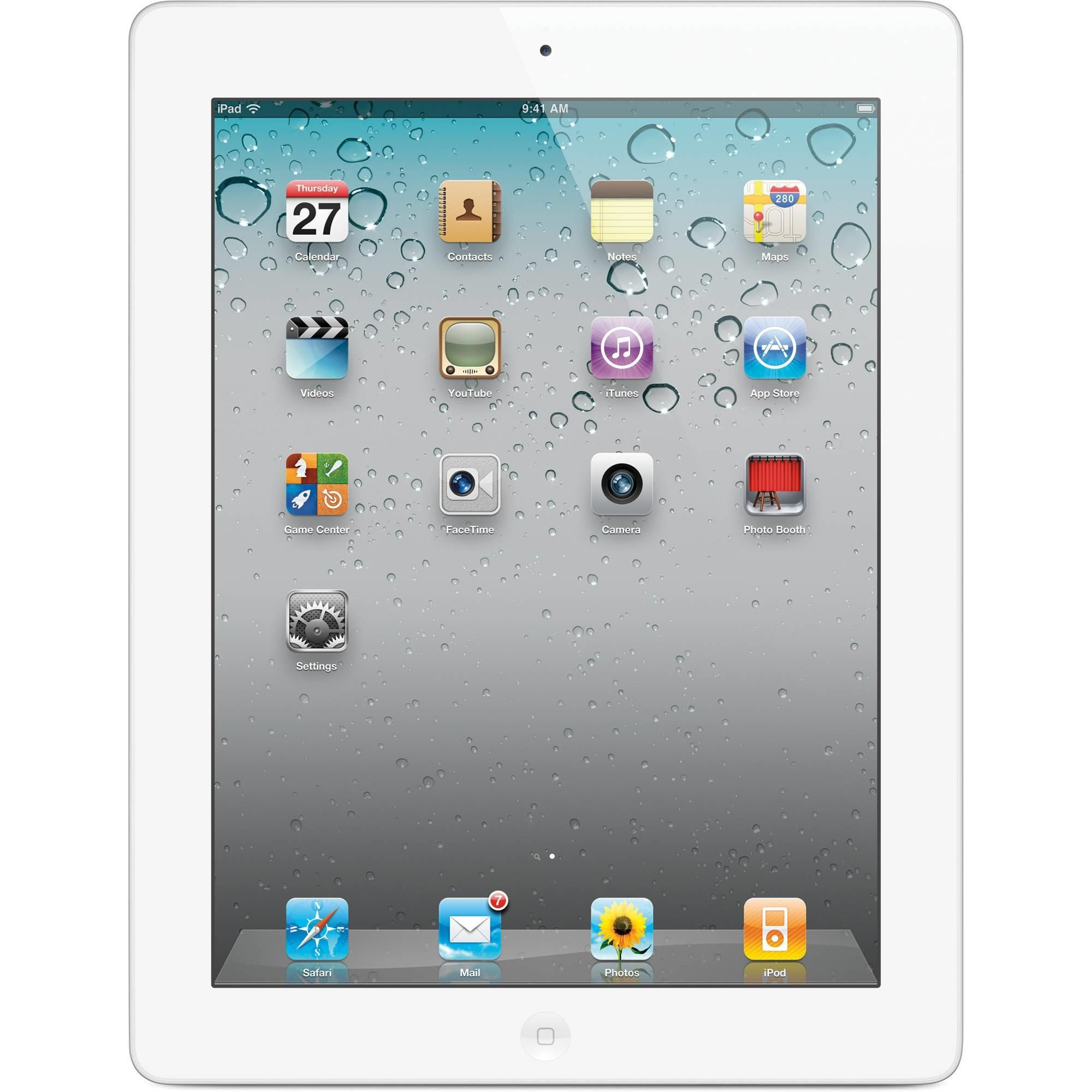 iPad 2 (2011) White 16GB (Wifi) Educational apps for