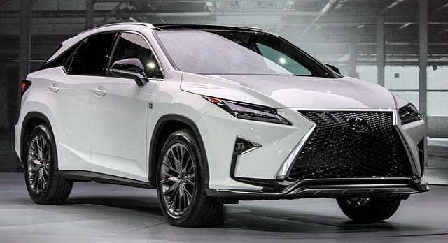 2016 lexus rx 350 redesign images galleries with a bite. Black Bedroom Furniture Sets. Home Design Ideas