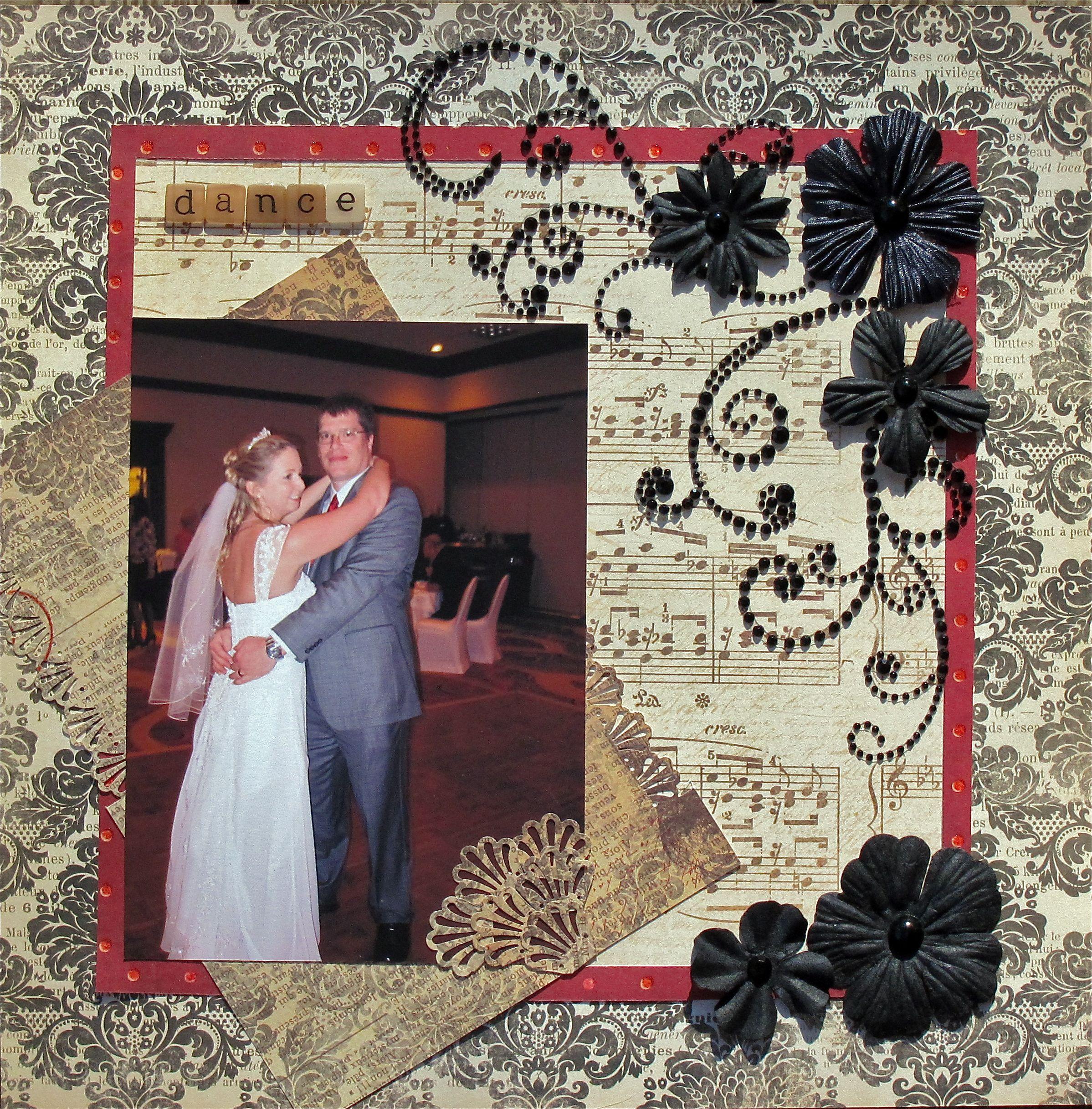First Dance - Scrapbook.com | Scrapbooking Wedding Layouts ...