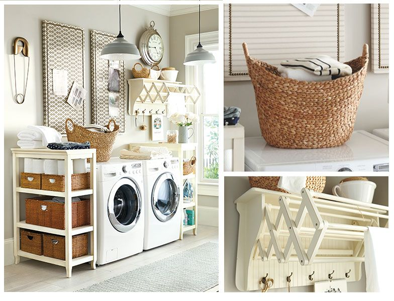Incredible laundry storage accordion drying rack ballard designs provence laundry room