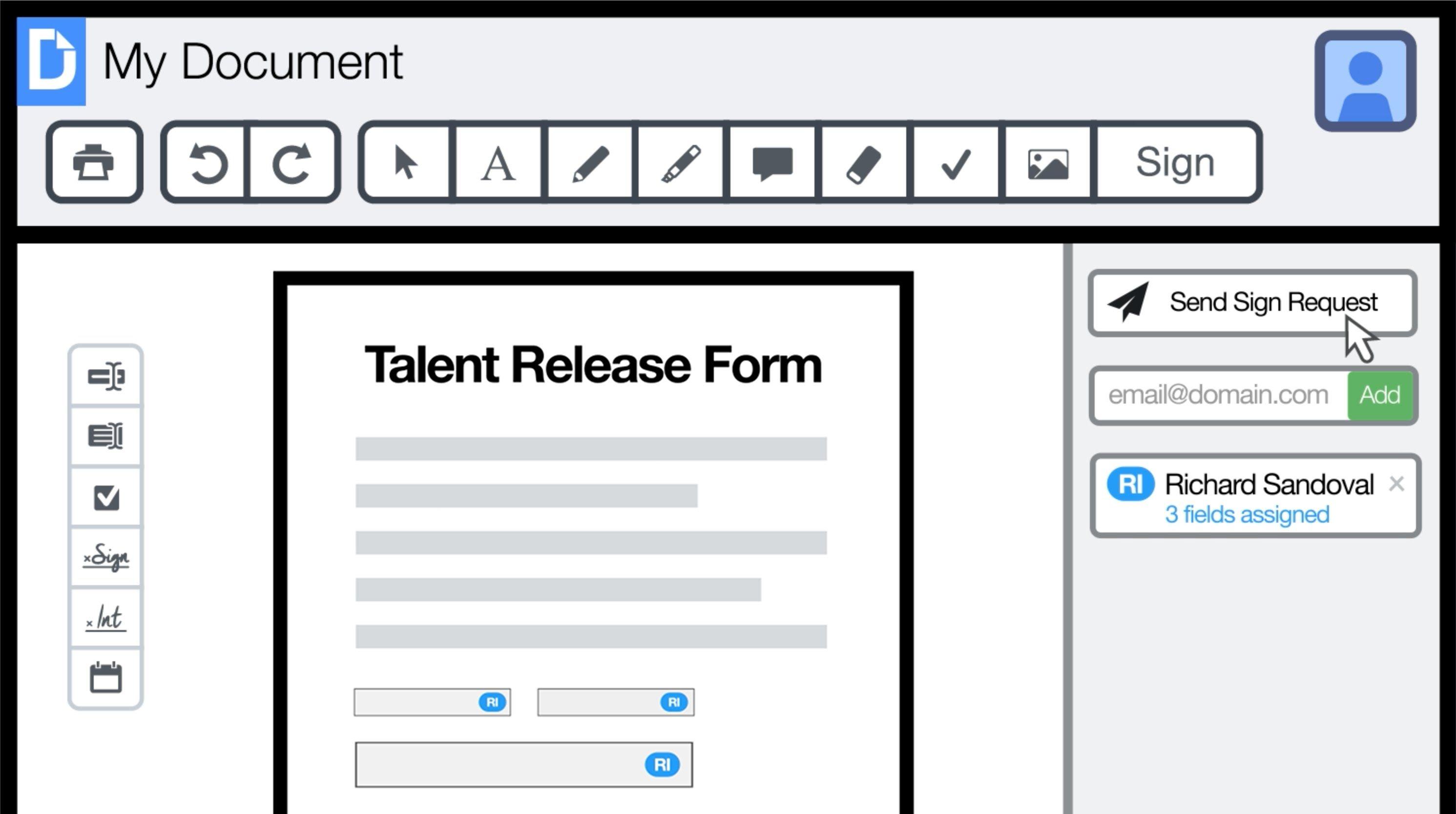 DocHub Edit send & sign PDFs online for free