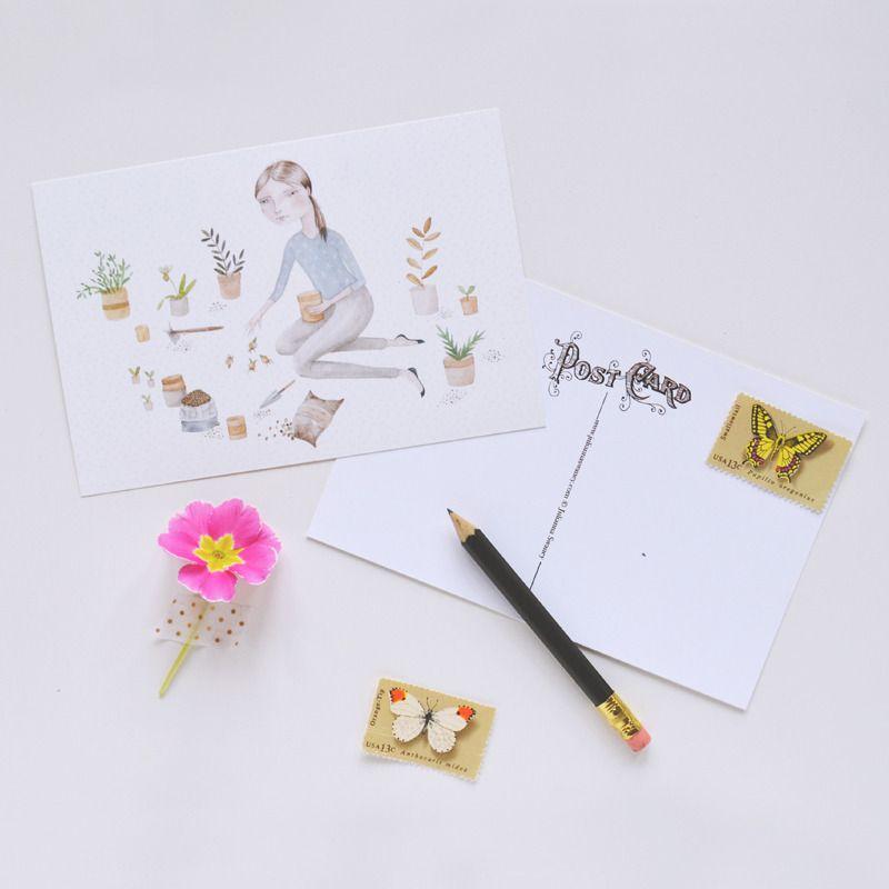 Plant Love Postcard Set, Julianna Swaney