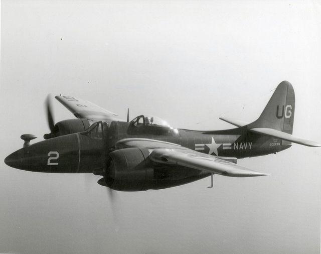 Grumman F7F-2D Tigercat BuNo 80335 'UG-2' -