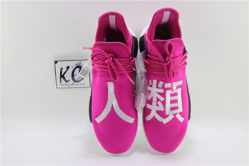 "e7ec07c5277c4 Adidas NMD Human Race ""Shock Pink"" Real Boost BB0621"