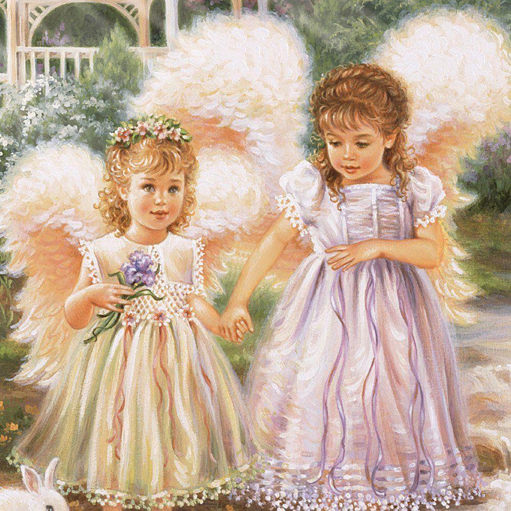 Dona Gelsinger Art | SISTERS LOVE FOREVER PRECIOUS TREASURES DONA GELSINGER Artist