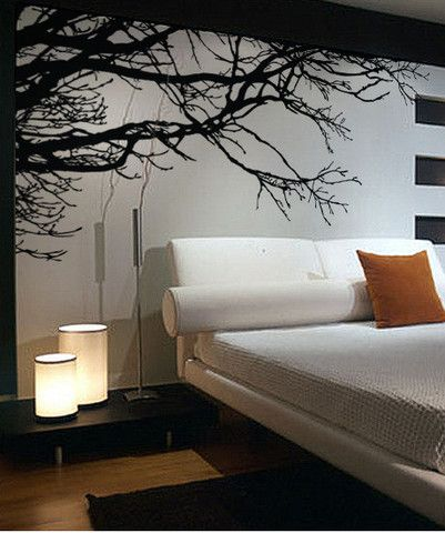 Vinyl Wall Decal Sticker Tree Top Branches #444 | Wall Art Decal, Wall Decal  Sticker And Wall Murals