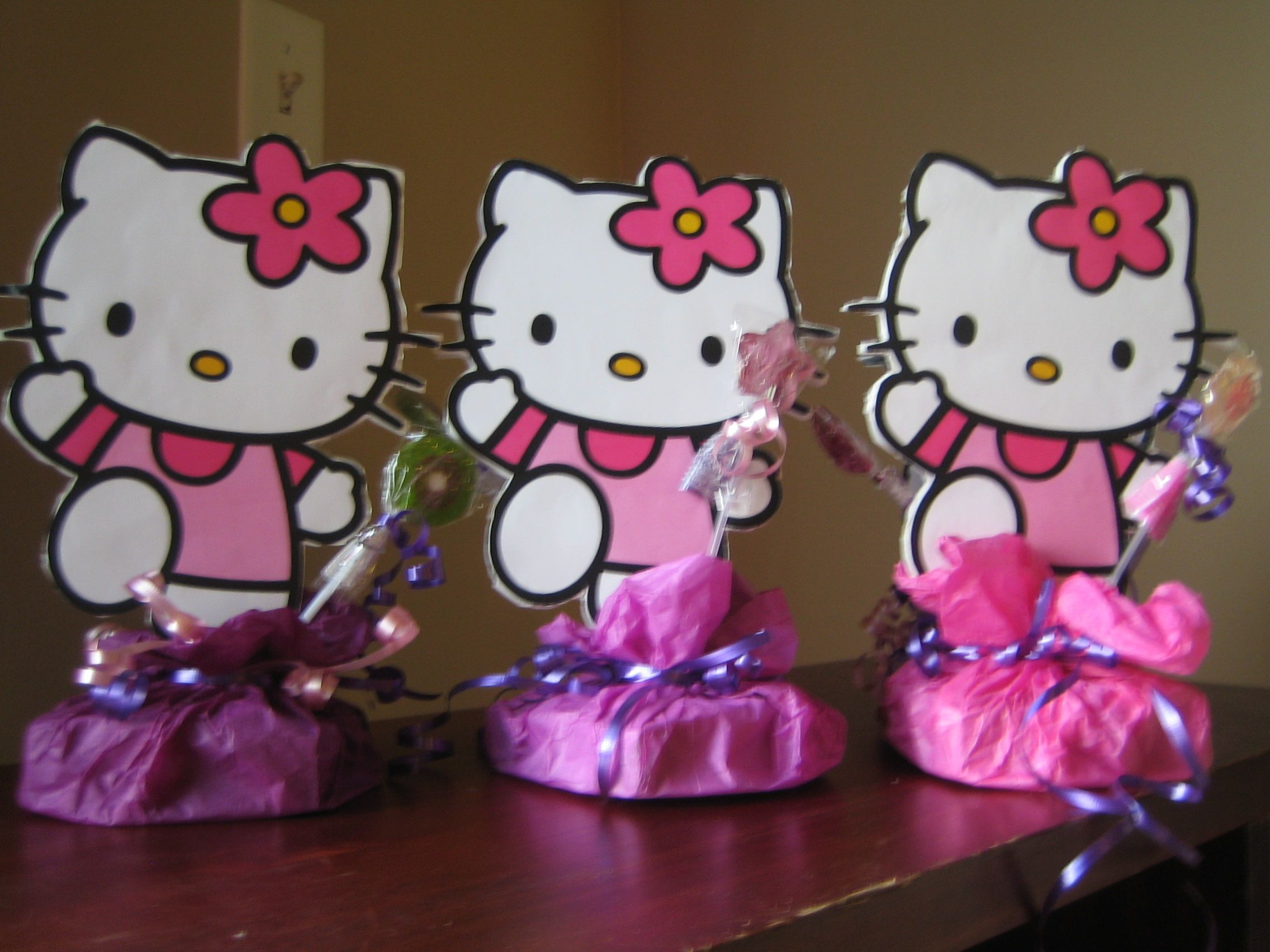 hello kitty baby shower decorations hello kitty center piece