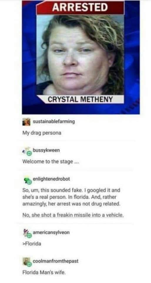 Florida Man's Wife - florida post