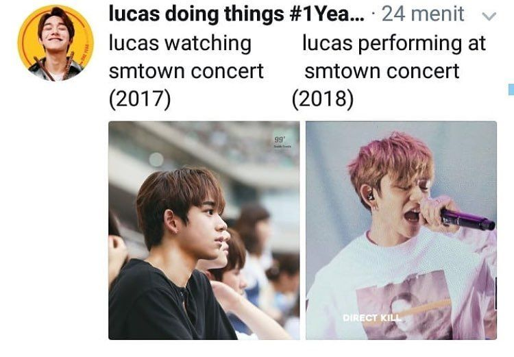 My Favorite Type Of Glow Up Sofy Lucas Nct Nct Nct Life