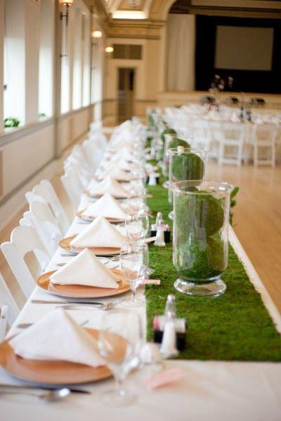 Centro de mesa para boda - copia estas ideas de mesas Mesas