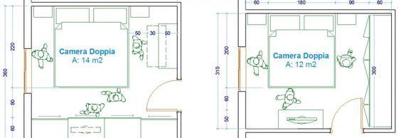 Le misure dell\'uomo nell\'abitazione : la camera da letto   camera da ...