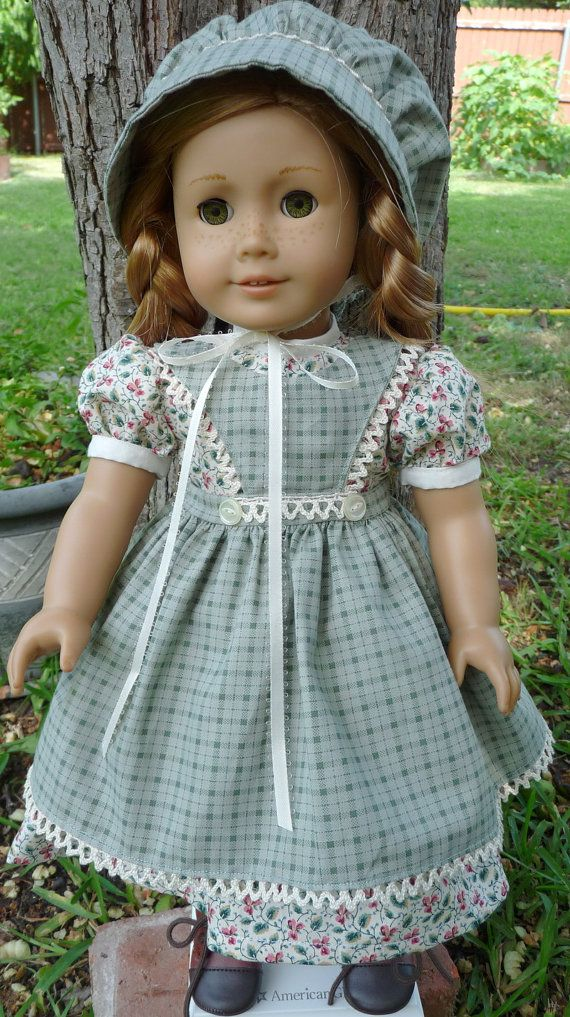RESERVED LISTING 18 Doll Clothes Prairie Dress by Designed4Dolls