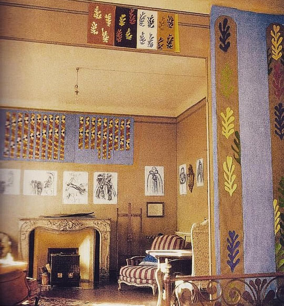 Henrimatisse Lived And Worked In The This Beautiful Apartment From 1943 To 1948 Villa Le Reve Matisse Tate Modern Painting