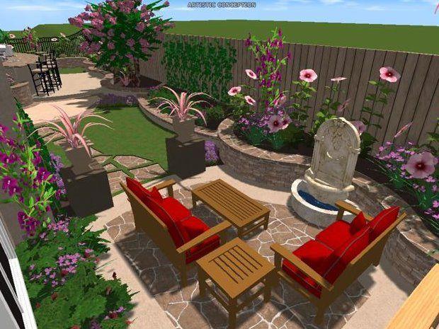 We Offer Virtual 3D Landscaping Plans Using Viz Terra 640 x 480
