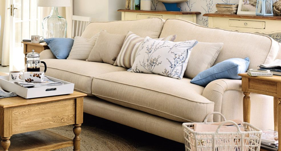 Laura Ashley Large Hertford Upholstered 2 Seater Sofa Collection Barnes London Pinterest Living Rooms And Room