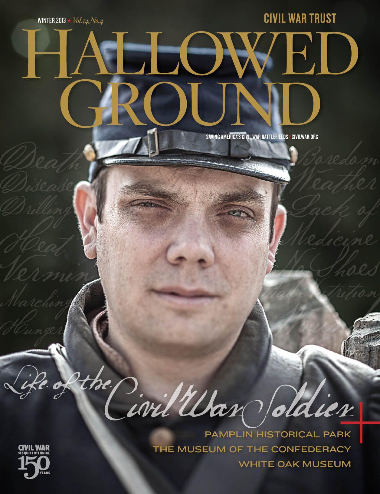 hallowed ground, Civil War Trust, cool typography, award