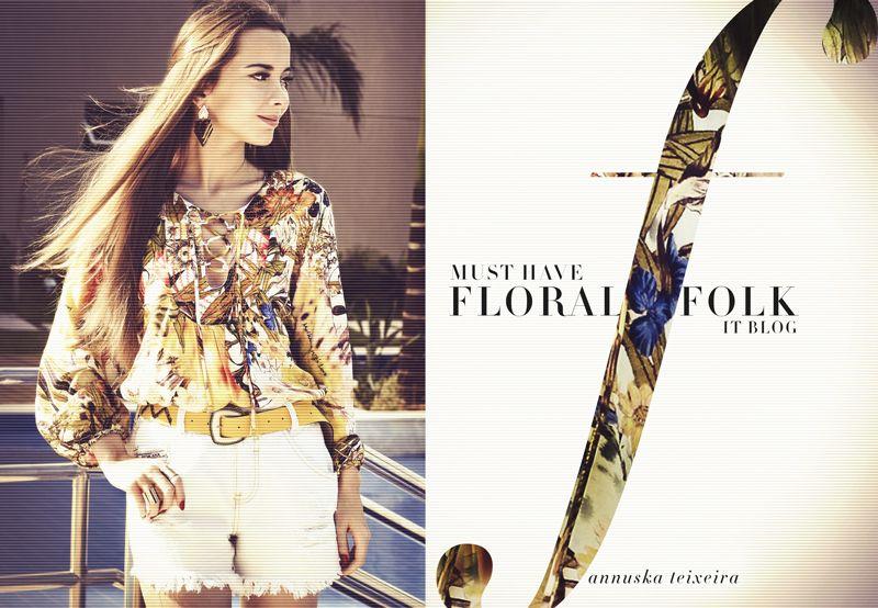 Look do Dia / Floral Folk