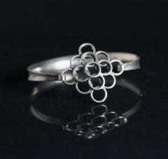 Silver bracelet by Erik Granit