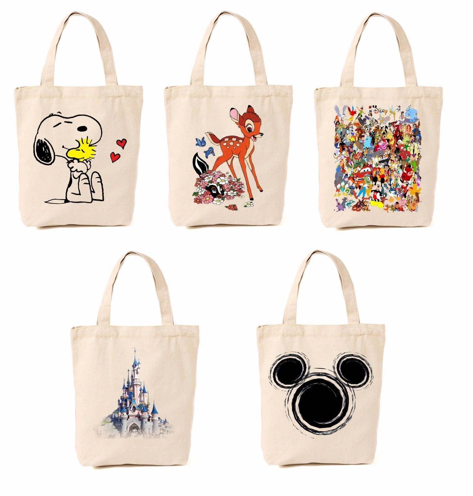 Cinderella NEW Collection CANVAS TOTE BAG LIMITED EDITION Free P/&P