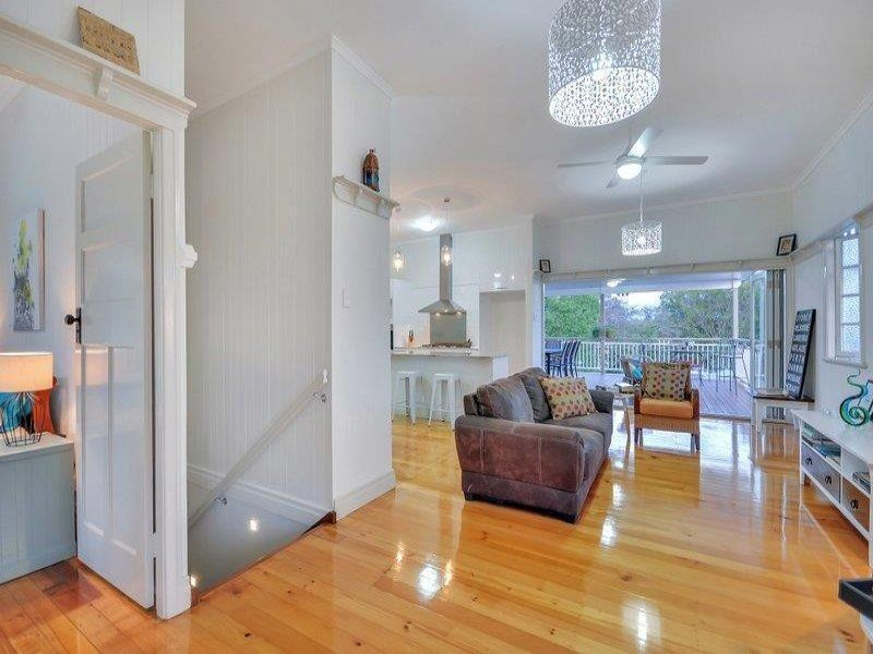 Modern Queenslander. Several walls were removed to create a modern ...