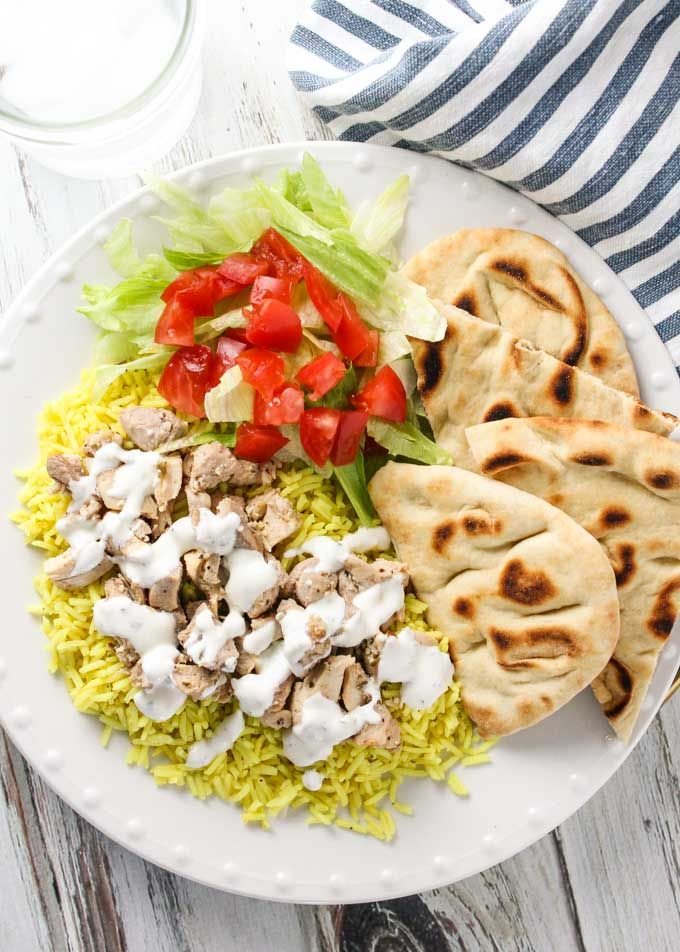 Halal Guys Chicken And Rice With White Sauce Recipe Recipes