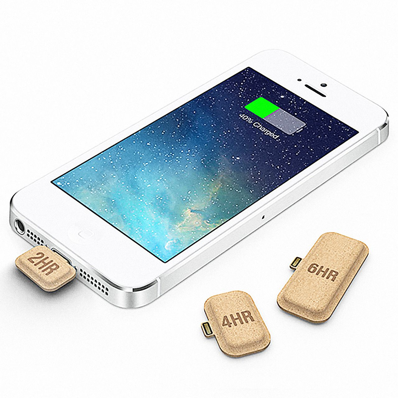 Handy Laden This Tiny Cardboard Battery Is Like A Vitamin For Your Smartphone