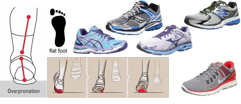 womens asics for overpronation