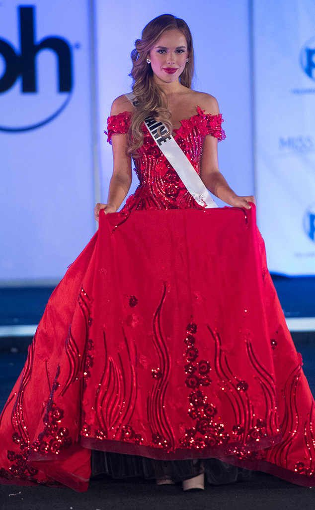 Miss Ukraine from Miss Universe 2017 Evening Gown