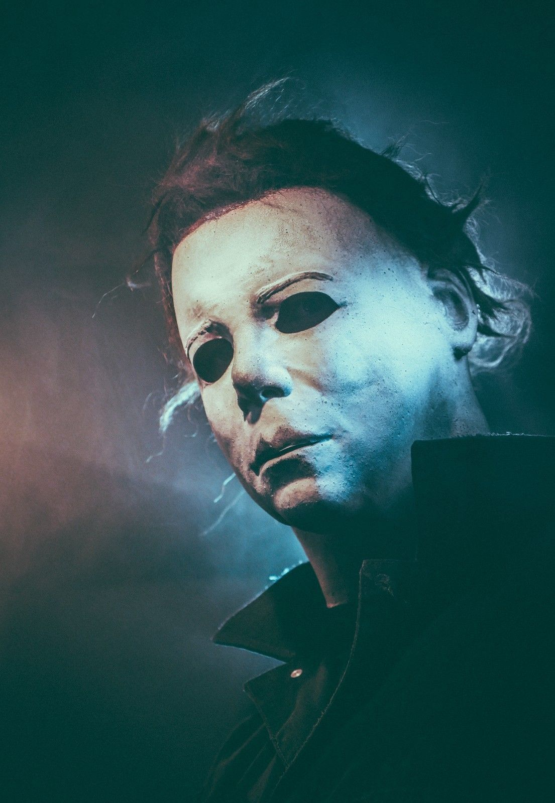 NAG JC 75K H2 Blood Tears Michael Myers Mask | Michael myers mask ...