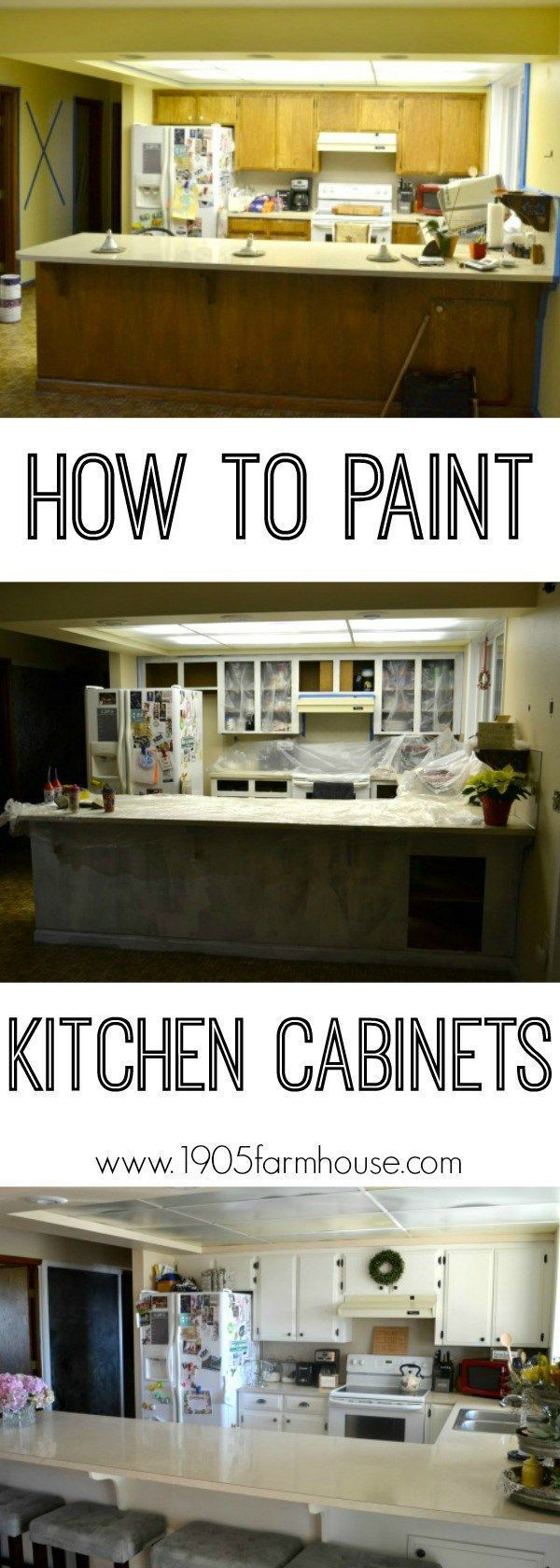 Kitchen Cabinets: An Update   Painting kitchen cabinets ...
