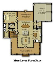 2 Story House Plan with Covered Front Porch   Story house, Front ...