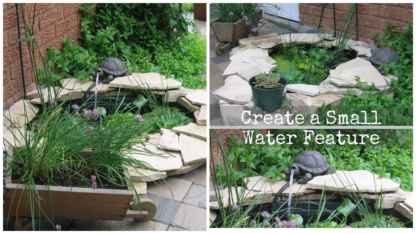Front garden features  You canut ask for a better location for a Pond and Stream  Small