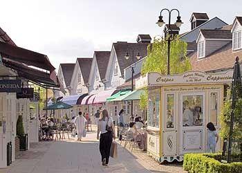 Bicester shopping village, Oxfordshire,UK  -outlet for designer homeware and fashion. mkibk1