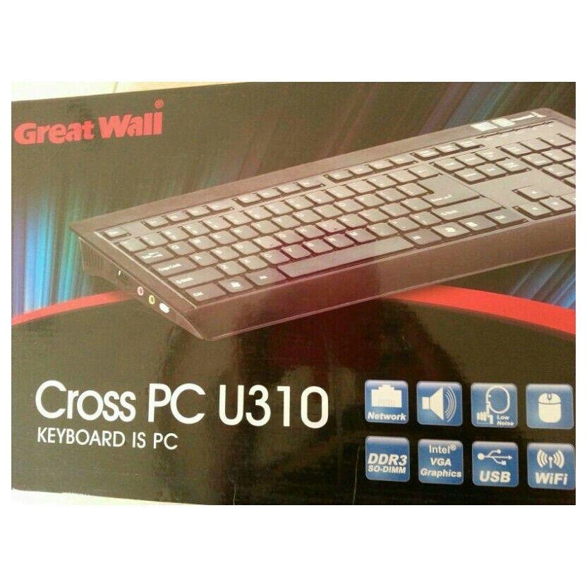 للبيع جهاز كمبيوتر Great Wall النظافة 100بالمائة جديد غير مستخدم معاه كل أغراضه ف Keyboard Computer Keyboard Vga