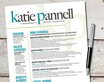 Tips For Designing Your Resume Graphic Design Resume Resume Design Template Resume Design