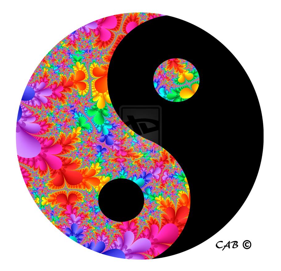 Rainbow Yinyang By Antarctica246 D6f72sc 2 Png 909 878 Yin Yang Art Yin Yang Ying Yang