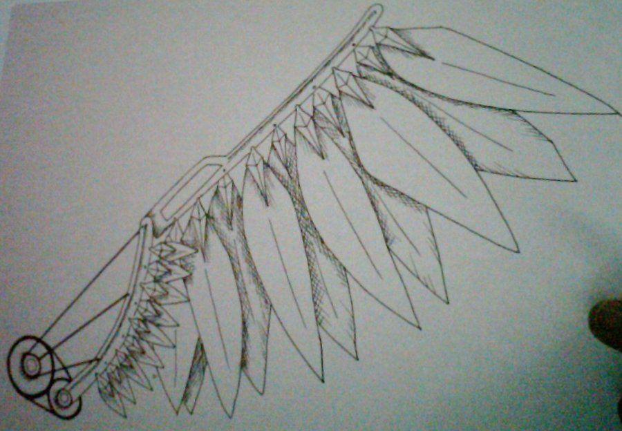 mechanical wing1 by Blair-Griffin.deviantart.com on @DeviantArt
