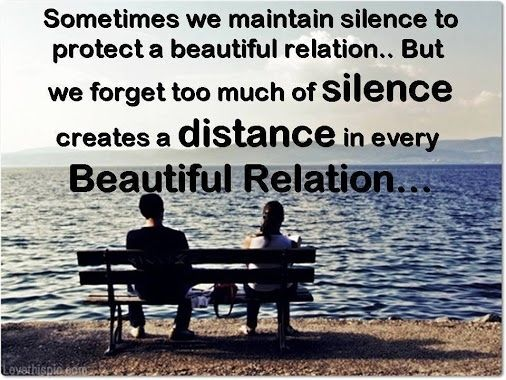 Too Much Silence My Heart Quotes Life Quotes Friendship Quotes