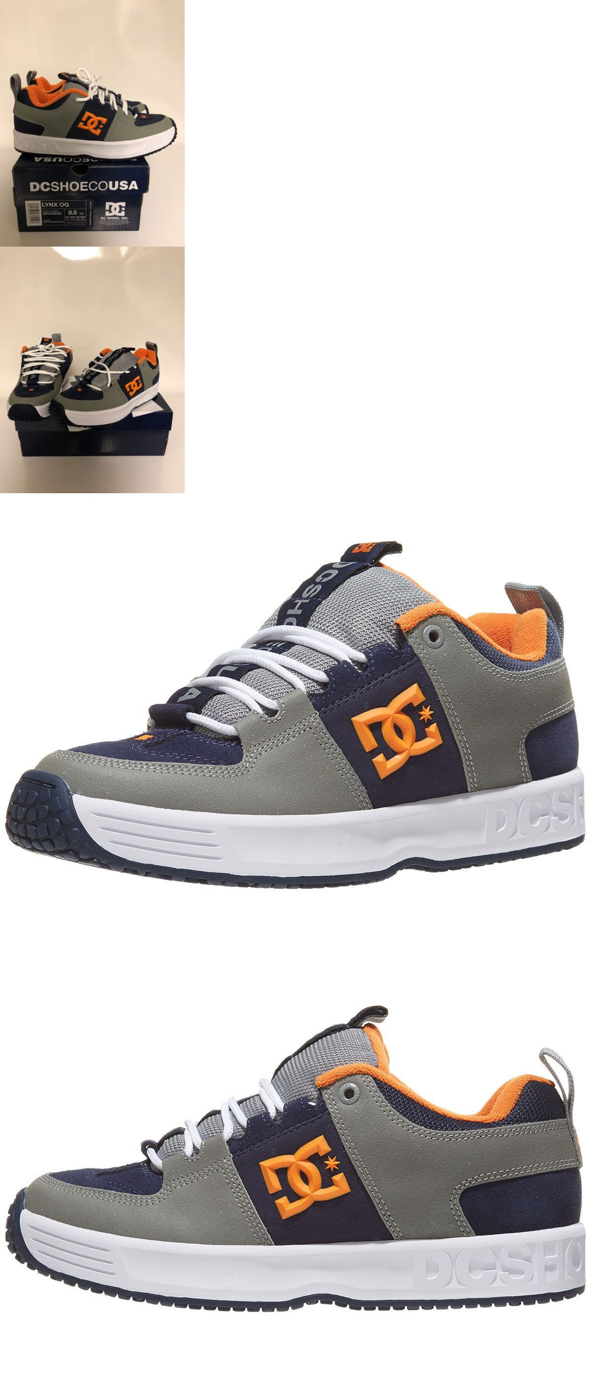 7482a40516 Footwear 50883  Dc Shoe Co Usa Lynx Og Navy Grey Orange - Men S 8.5  Skateboarding Shoes -  BUY IT NOW ONLY   119.95 on  eBay  footwear  orange  ...