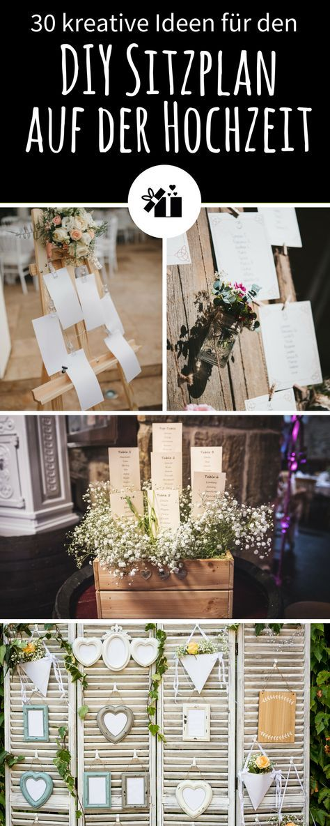 35 kreative DIY Sitzplan-Ideen für die Hochzeit #decorationequipment