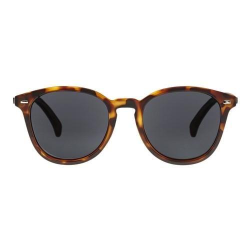 9bb17f9368b Le Specs - Bandwagon Matte Tort Sunglasses   Smoke Mono Polarized Lenses
