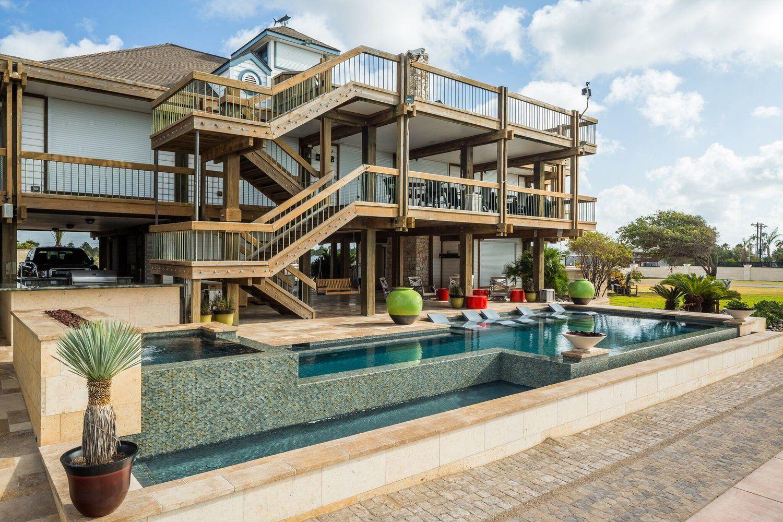 Custom Pool Builder near Galveston | Custom pools, Pool ... on Outdoor Living Space Builders Near Me id=85028