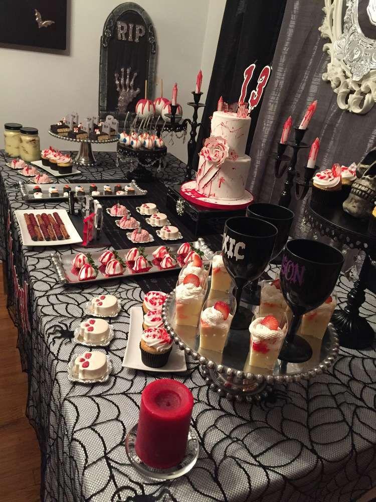 Liyah's Gory 13th Birthday Celebration  | CatchMyParty.com