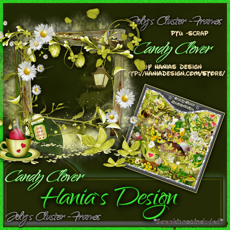 Candy clover-cluster-01 [HaniaDesign] - $0.50 : Hanias Design