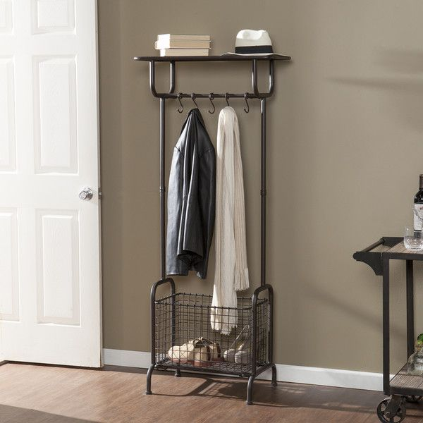 Bovill Hall Tree Hall Tree Entryway Rack Entryway Storage Rack